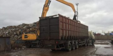 Вывоз металлолома